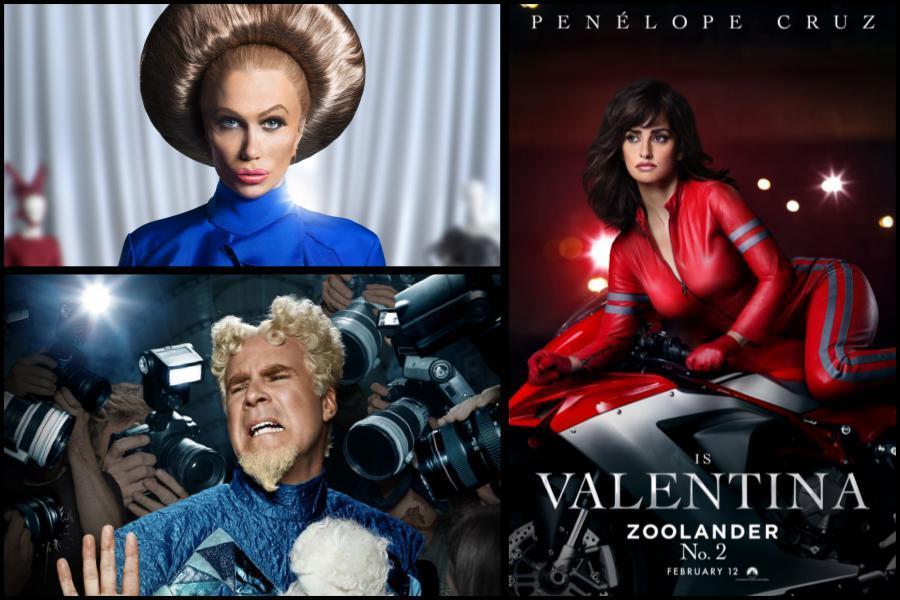 Gli attori Penelope Cruz, Kristen Wiig e Will Farrell che fanno parte del sequel di Zoolander