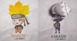 I personaggi di Naruto creati a partire da oggetti di tutti i giorni