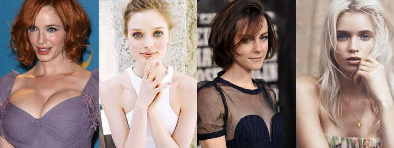 Il cast femminile di The Neon Demon