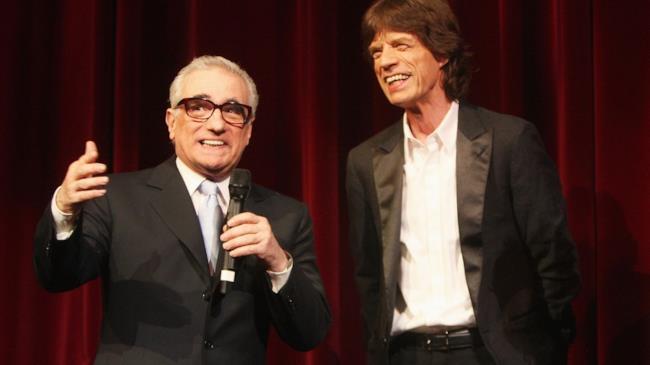 Martin Scorsese e Mick Jagger