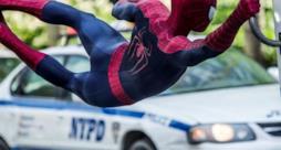 Spider-Man in un fotogramma del film