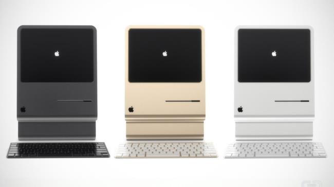 Concept di iMac by Curved Labs