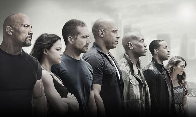 Il cast di Furious 7