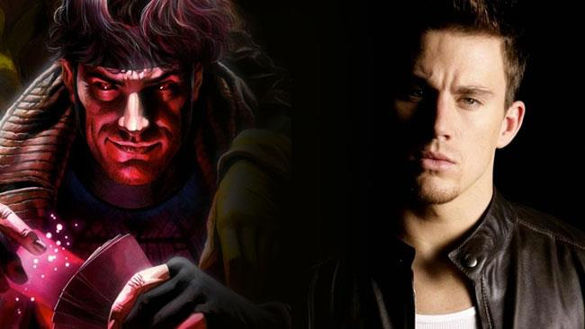 Channing Tatum nel ruolo di Gambit