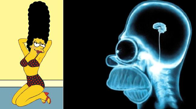 Homer e Marge Simpson