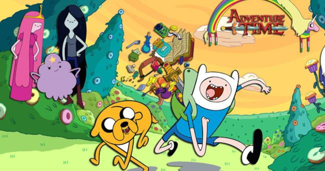 Finn e Jake in Adventure Time