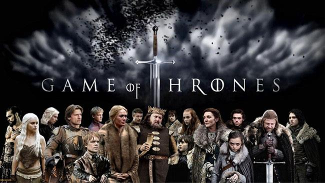 Un collage con tutti i protagonisti di Game of Thrones