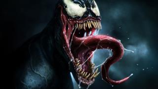 Un'immagine di Venom, un cattivo dell'universo Marvel