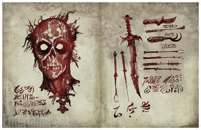 Il Necronomicon Ex-Mortis in Ash vs Evil Dead