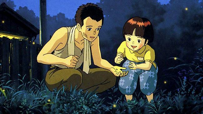 La Tomba delle Lucciole di Studio Ghibli