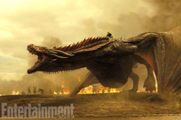 La furia dei draghi nella settima stagione