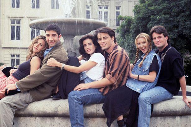 NBS celebra James Burrows con il cast di Friends