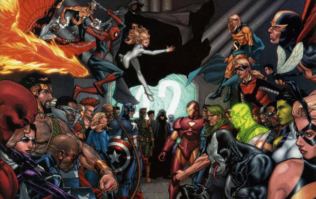 Gli eroi Marvel si affrontano in Civil War