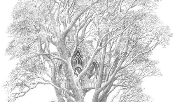 Beren e Lúthien, illustrato da Alan Lee