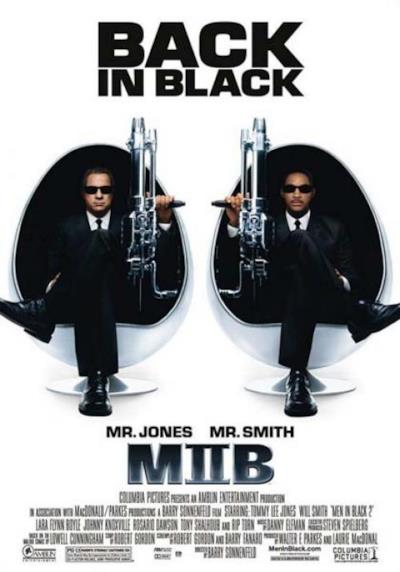 La locandina di Men in Black 2