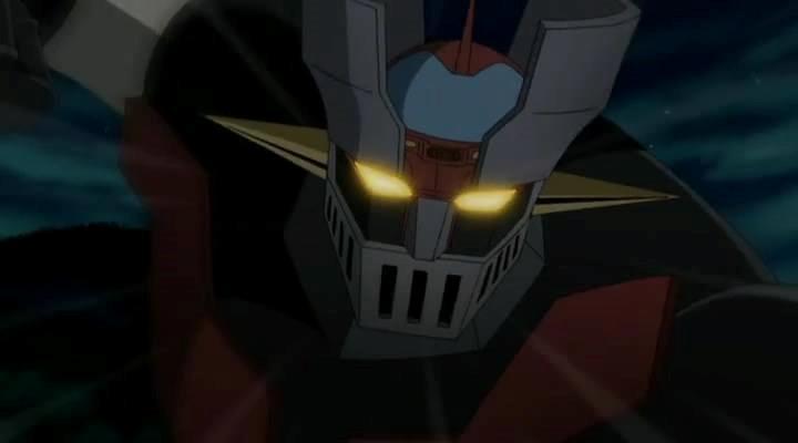 una scena dell'anime di Mazinger Z