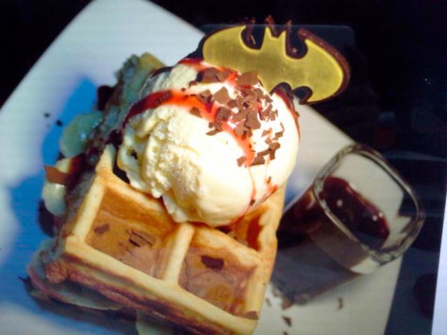 I waffles ispirati a Batman