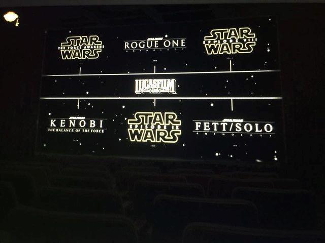 Possibile leak dei titoli dei prossimi film di Star Wars