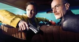 Jesse e Walter in Breaking Bad