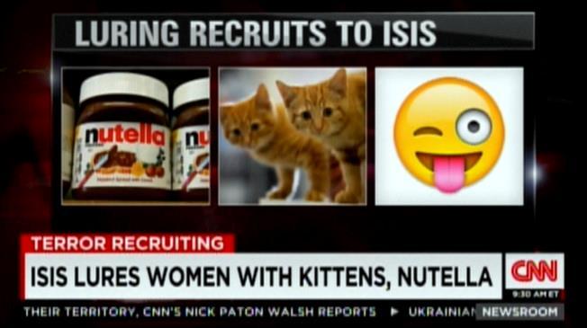 L'ISIS recluta con Nutella e Gattini