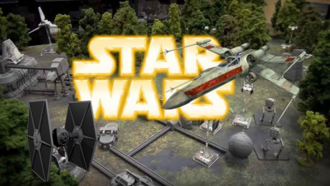 Un nuovo e dettagliatissimo miniature game a tema Star Wars creato da dei fan della saga