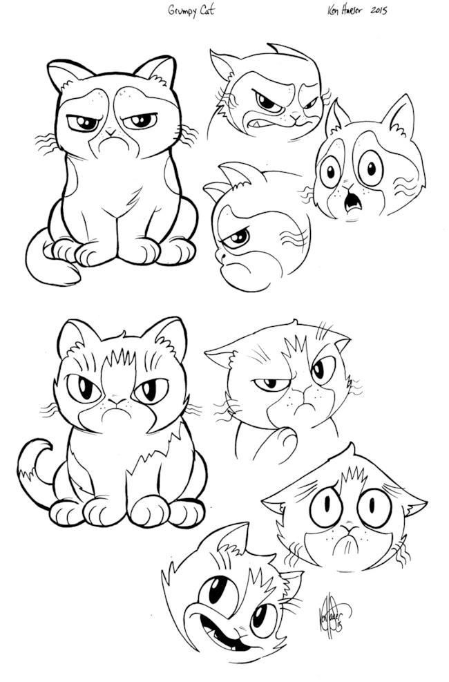 Grumpy Cat nella serie a fumetti