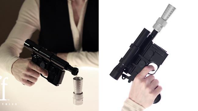 Blaster Flask ispirata a Han Solo