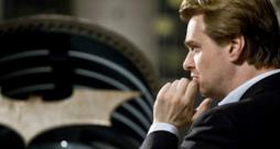 Christopher Nolan sul set di Batman