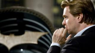 Christopher Nolan sul set di Batman