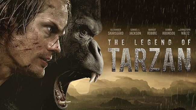 Il poster di The Legend of Tarzan