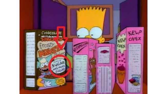 I Merchandising matti nella serie dei Simpson - 1