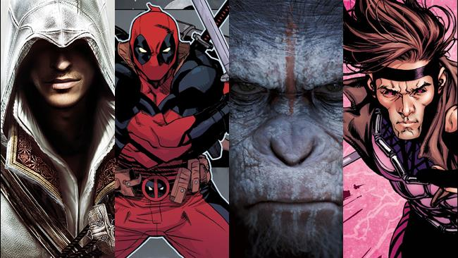 Assassin's Creed, Deadpool, Planet of The Apes e Gambit tra i titoli annunciati