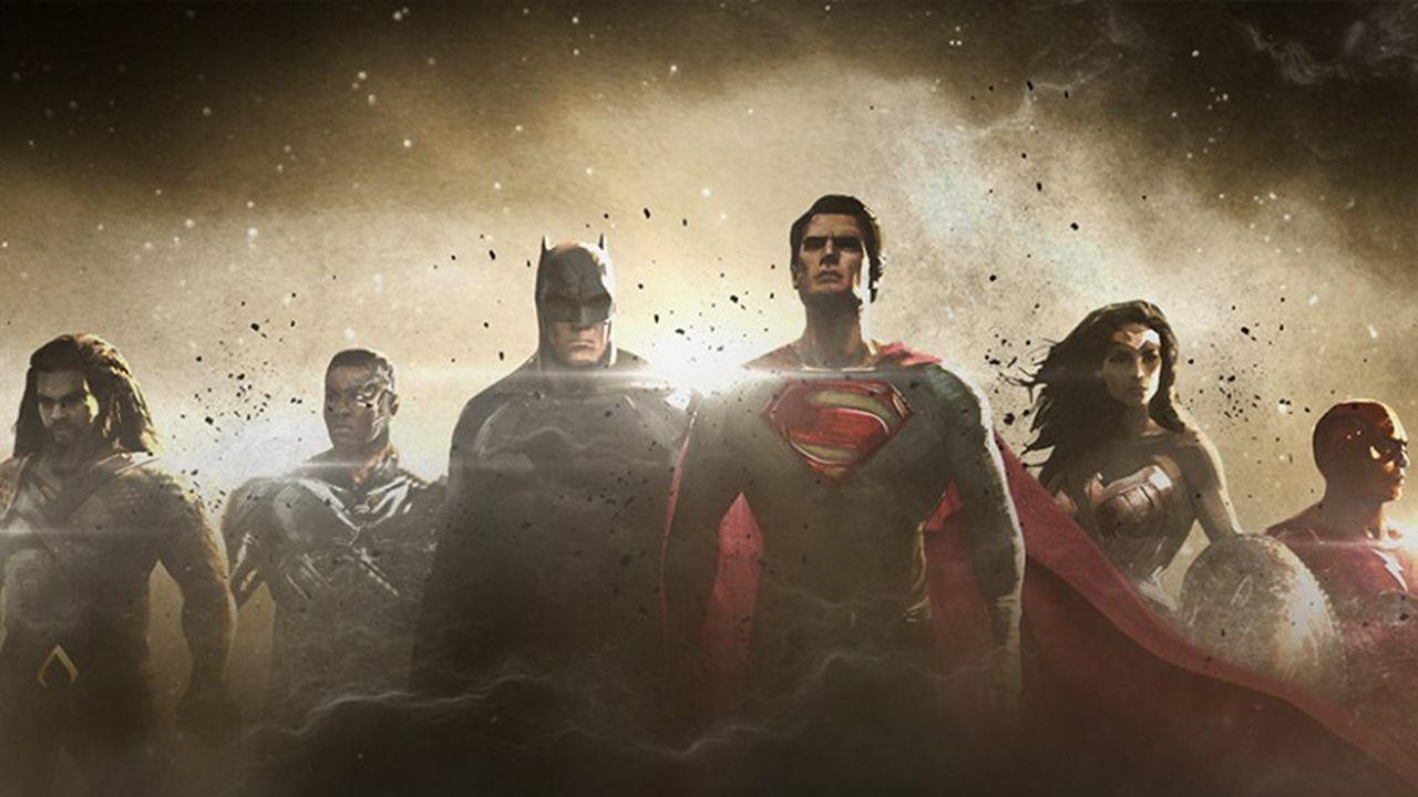 La prima concept art di Justice League