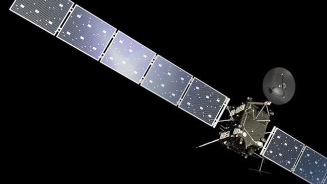 La sonda europea Rosetta