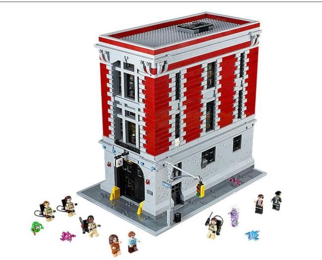 Il set LEGO dei Ghostbusters e le sue minifigures