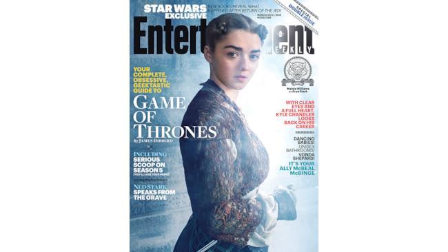 Arya Stark nella stagione 5 di Game of Thrones