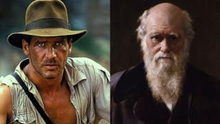Indiana Jones e Charles Darwin a confronto
