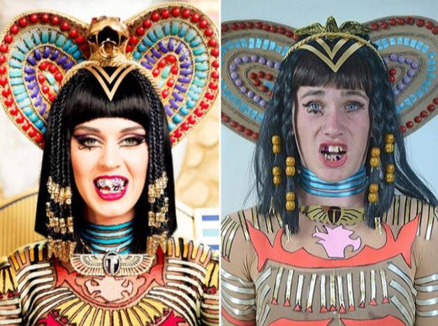 Versione low cost di Katy Perry in Dark Horse