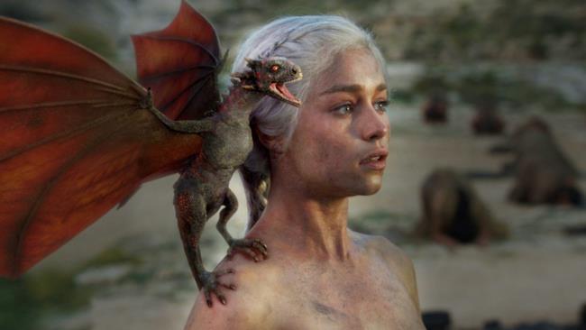 Scena dalla stagione 5 di Game of Thrones