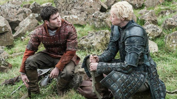 Pod e Brienne nella quinta stagione di Game of Thrones