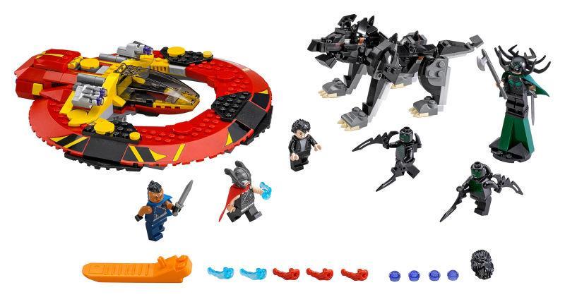 Ecco la prima immagine del set LEGO ispirato a Thor Ragnarok