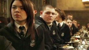 Scarlett Byrne in Harry Potter