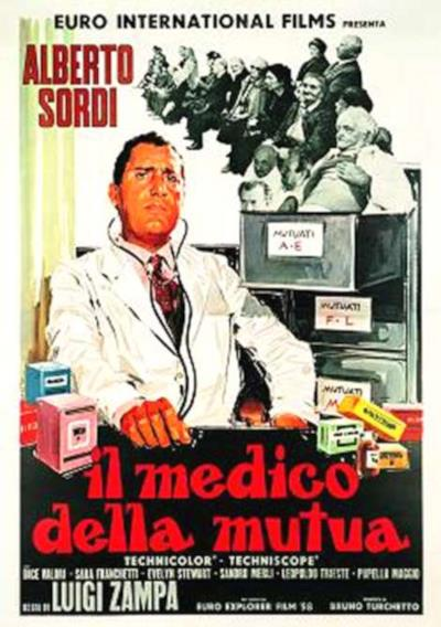 La locandina de Il medico della mutua
