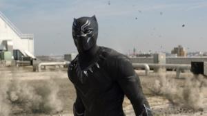 Black Panther in fuga da proiettili