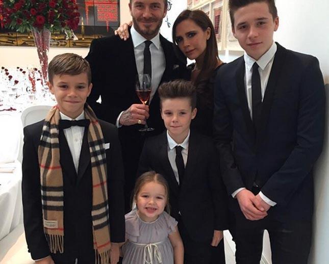 La famiglia Beckam