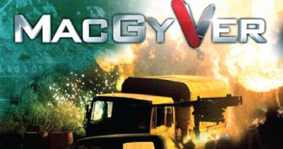 Macgyver, il nuovo poster per il comic con 2016 di san diego ...