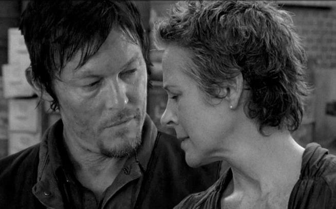 Daryl e Carol in The Walking Dead