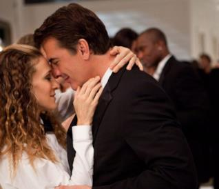 Chris Noth e Sarah Jessica Parker in una scena di Sex an the City