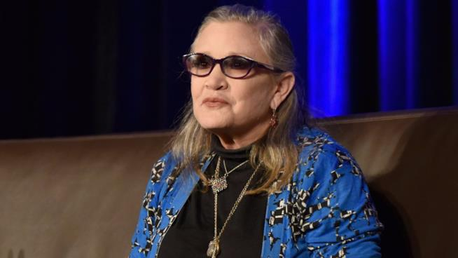 Carrie Fisher è morta di apnea notturna e