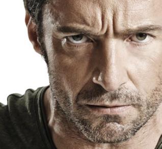 Lo sguardo di Wolverine negli occhi di Hugh Jackman